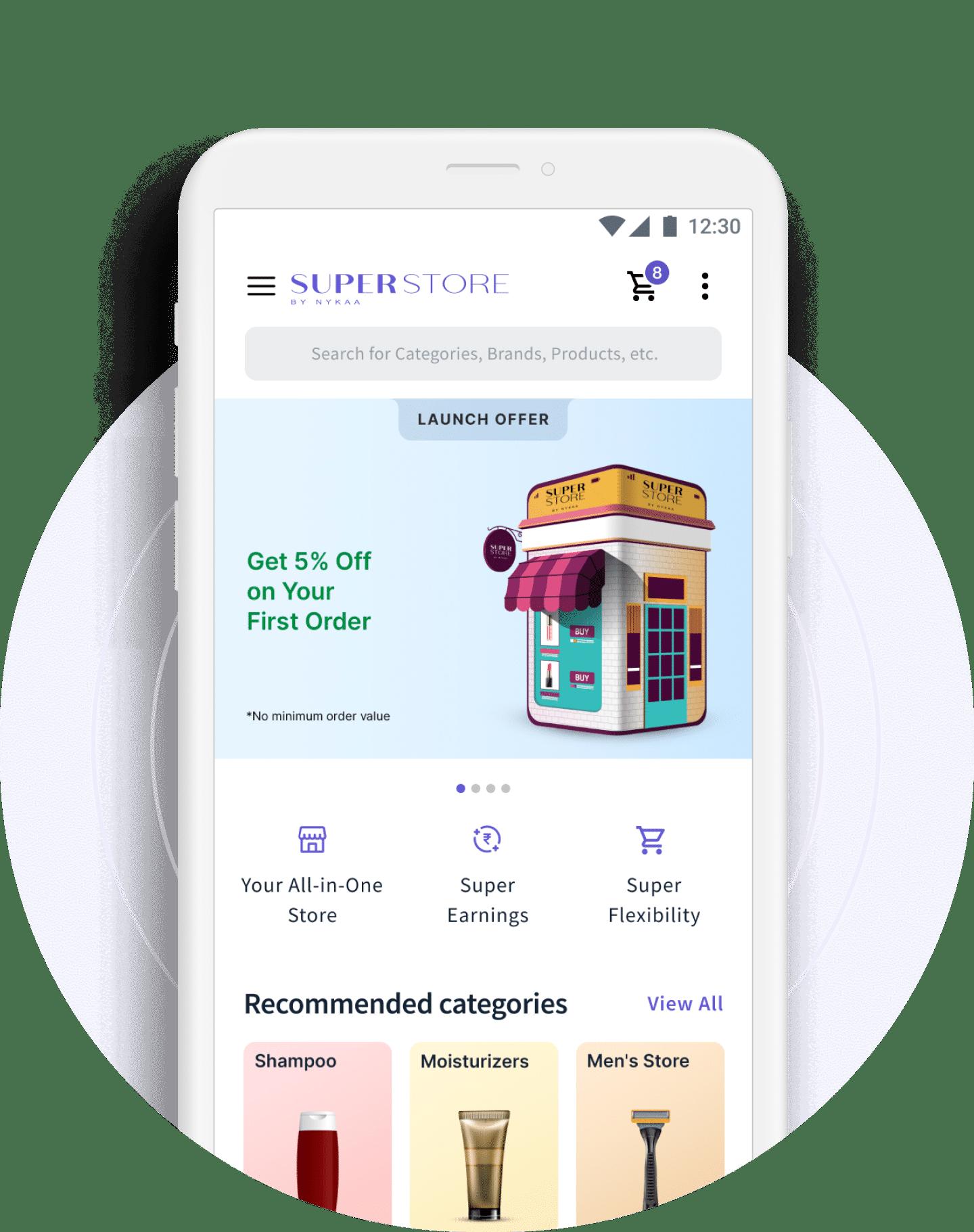 nykaa super mobile app